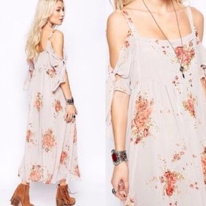 FREE PEOPLE - Floral Maxi